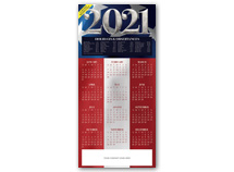 Stars & Stripes Calendar Cards
